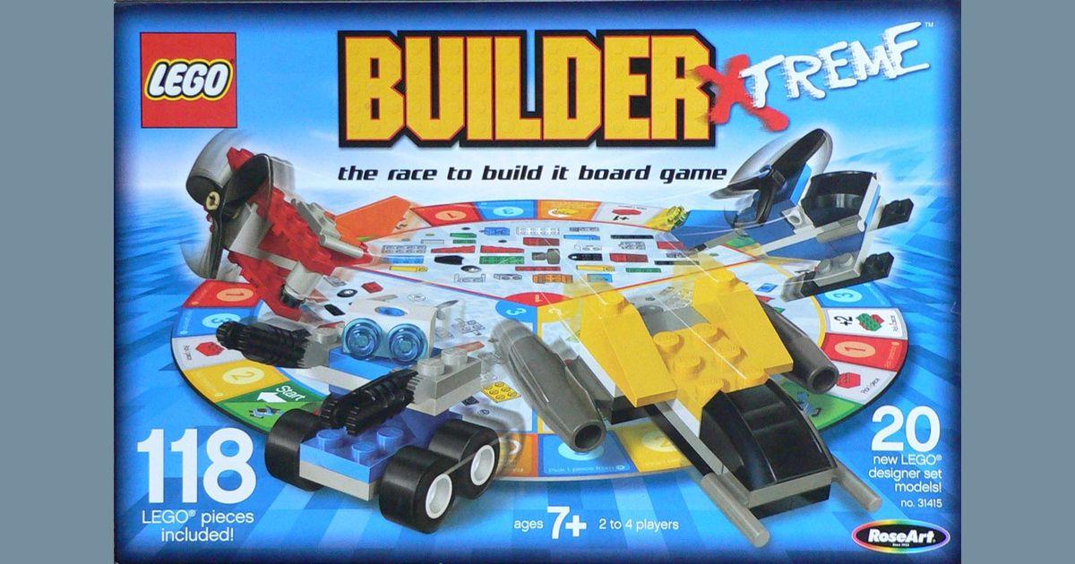 LEGO Builder Xtreme | Board Game | BoardGameGeek