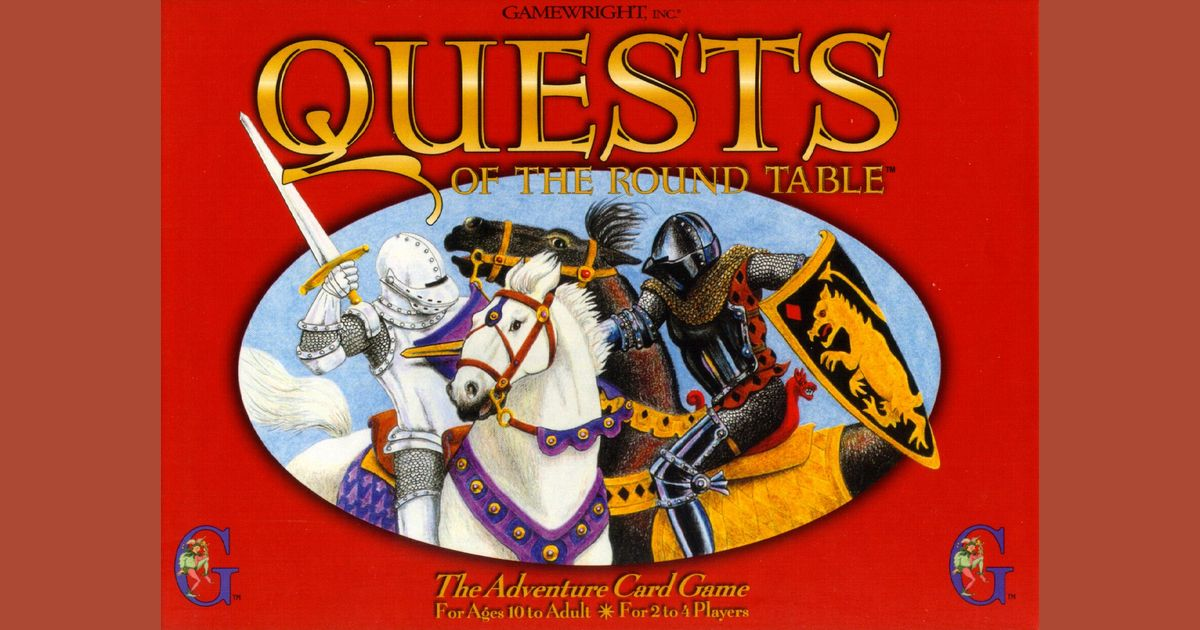 Quests of the Roundtable gamewright