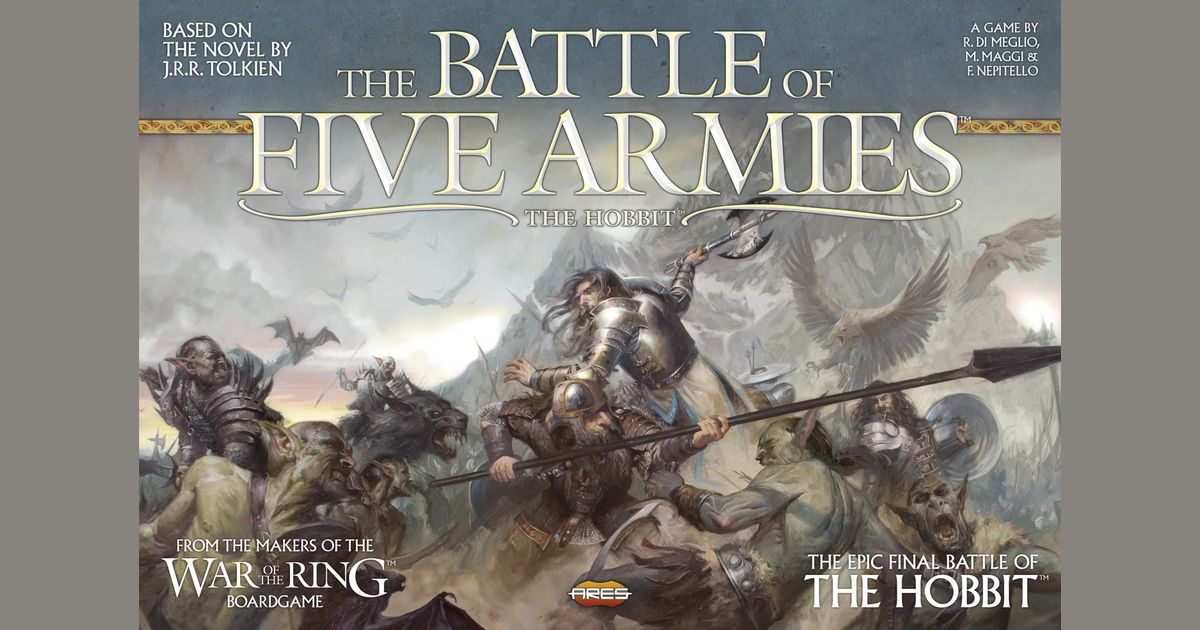 The Battle of Five Armies | Board Game | BoardGameGeek