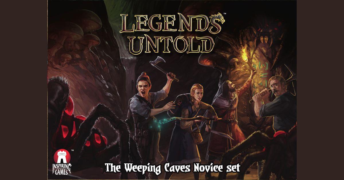 Legends Untold: Weeping Caves Novice Set | Board Game | BoardGameGeek