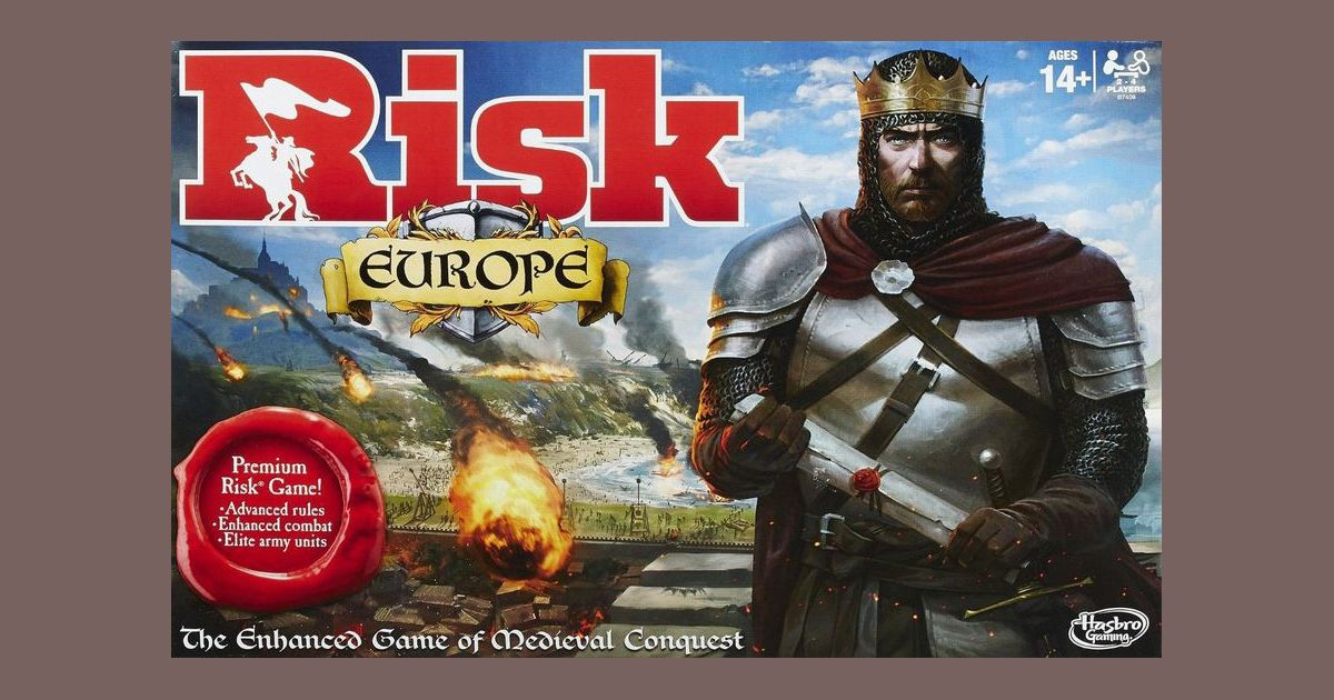Risk Europe | Board Game | BoardGameGeek