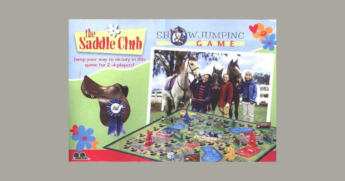 The Saddle Club Showjumping Game | Board Game | BoardGameGeek