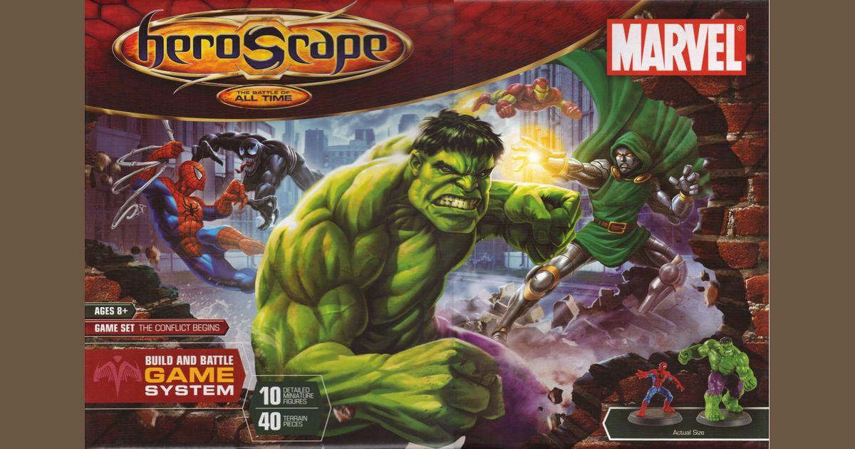 Heroscape Marvel: The Conflict Begins | Board Game
