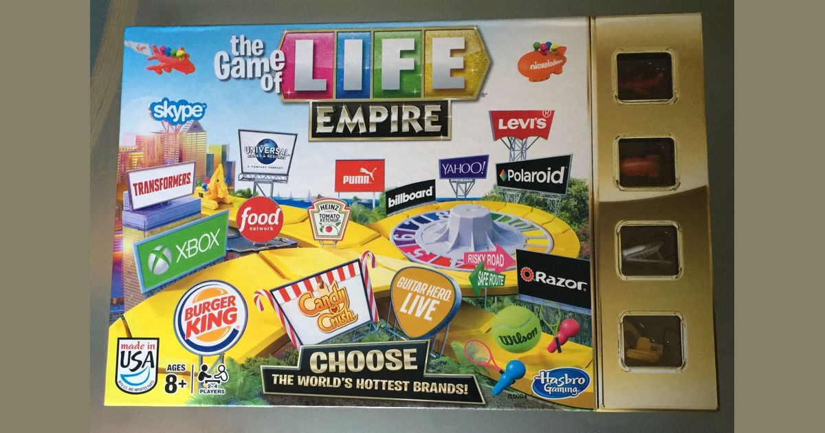 The Game Of Life Empire Board Game Boardgamegeek