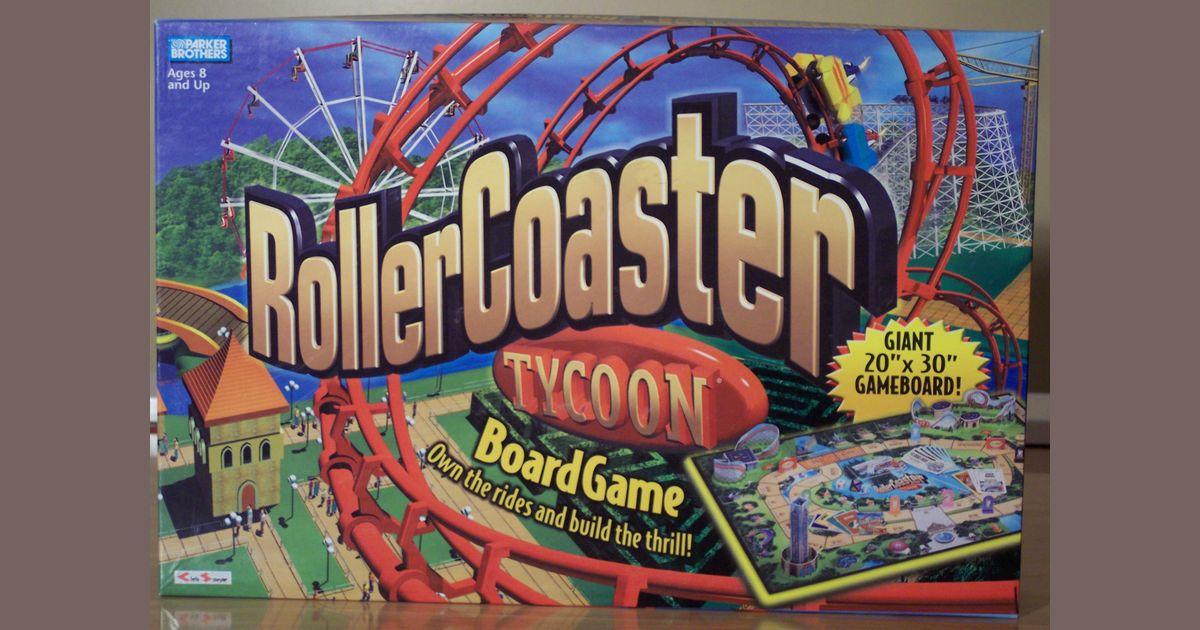 Roller Coaster Tycoon | Board Game | BoardGameGeek
