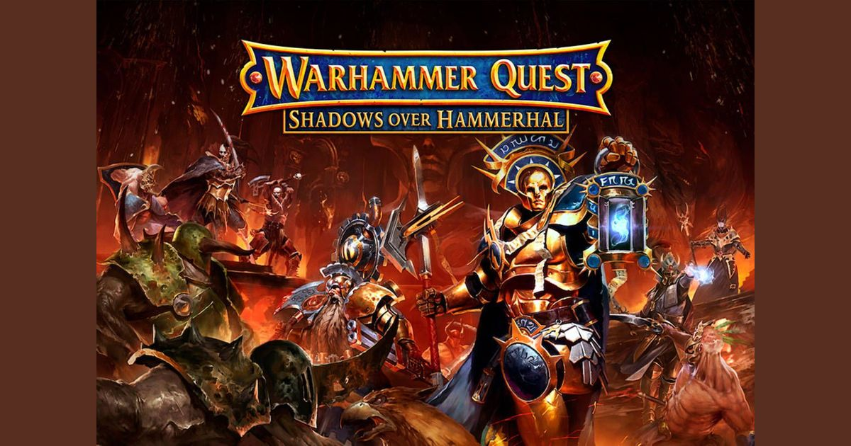 Warhammer Quest Redux: Epic Cooperative Campaign and