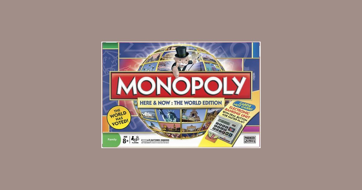 Monopoly 7 In 1 Compilation Components Mainly Review Monopoly