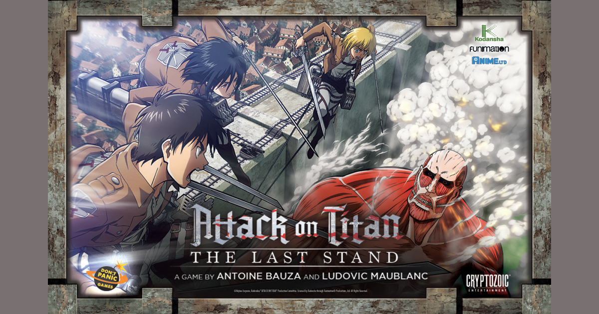Attack on Titan: The Last Stand | Board Game | BoardGameGeek