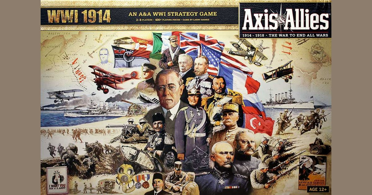 Axis & Allies: WWI 1914   Board Game   BoardGameGeek