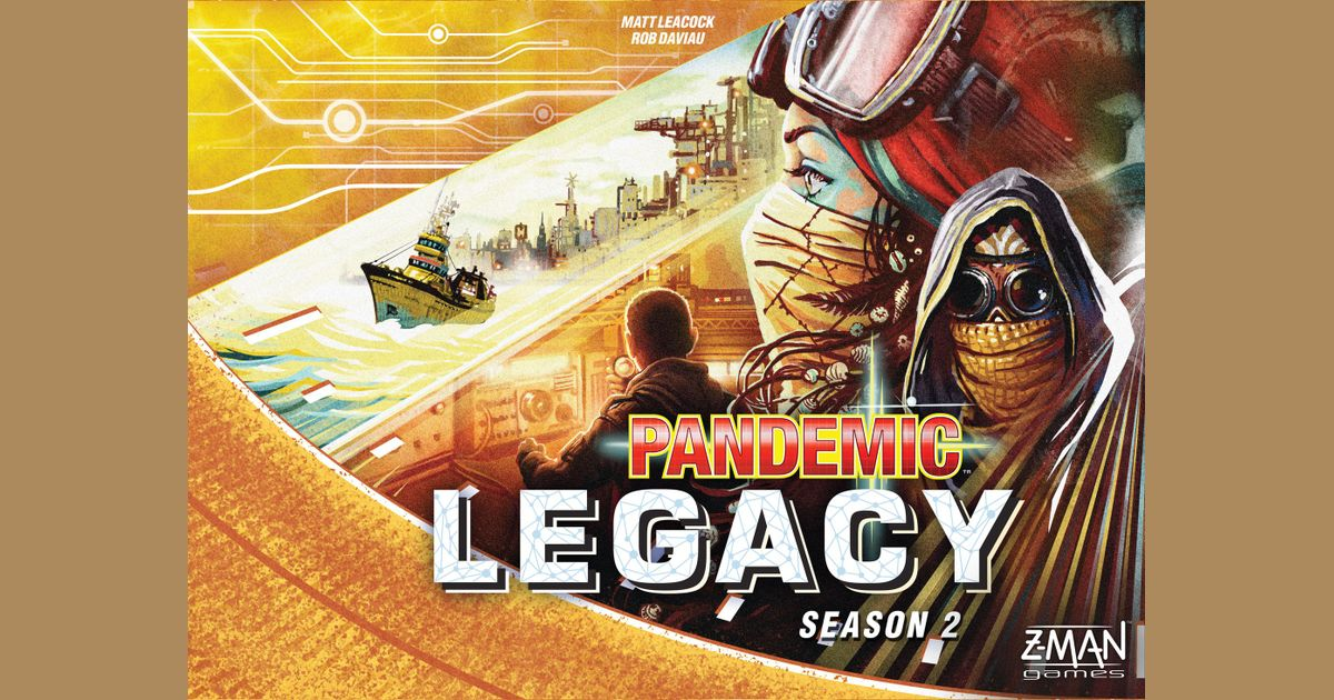 Pandemic Legacy: Season 2 | Board Game | BoardGameGeek