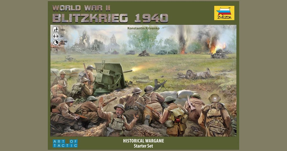 World War II: Blitzkrieg 1940 | Board Game | BoardGameGeek
