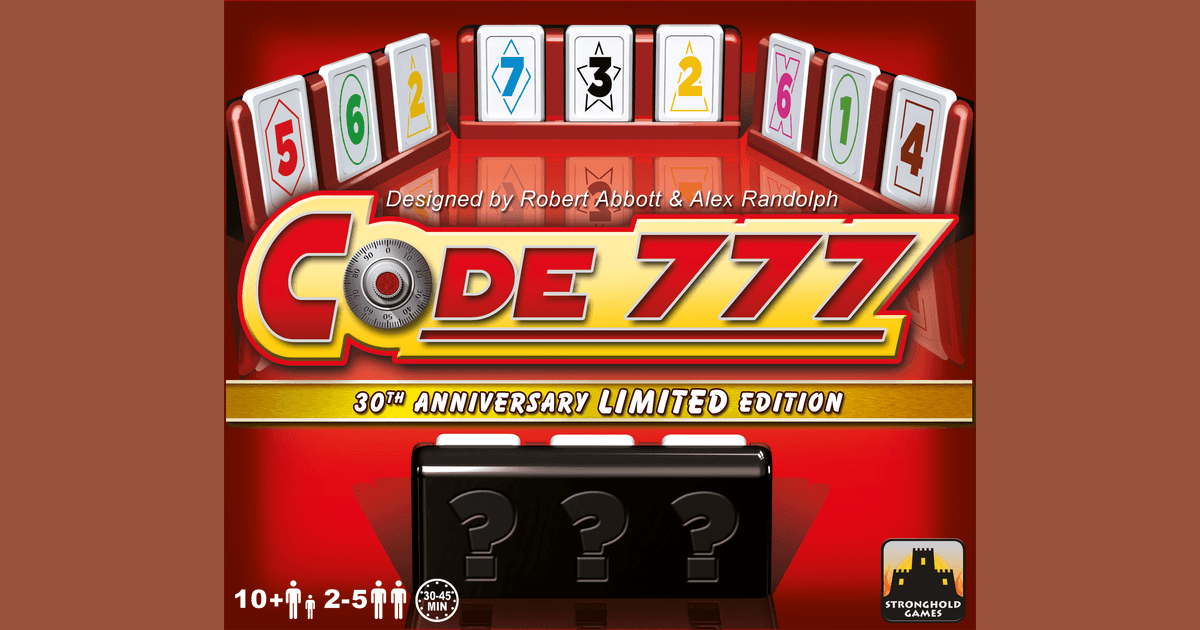Code 777 | Board Game | BoardGameGeek