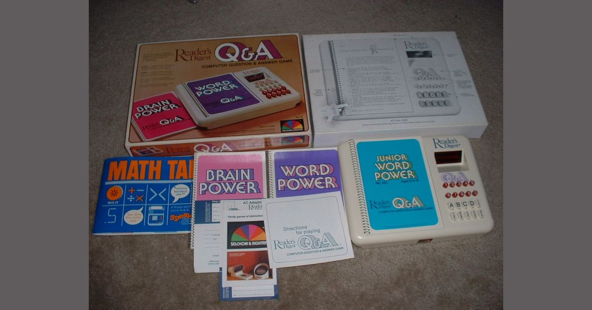 Reader's Digest Computer Question & Answer Game | Board Game