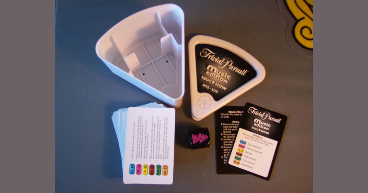 Trivial Pursuit: Music Edition 1990-Now – Bite-size | Board