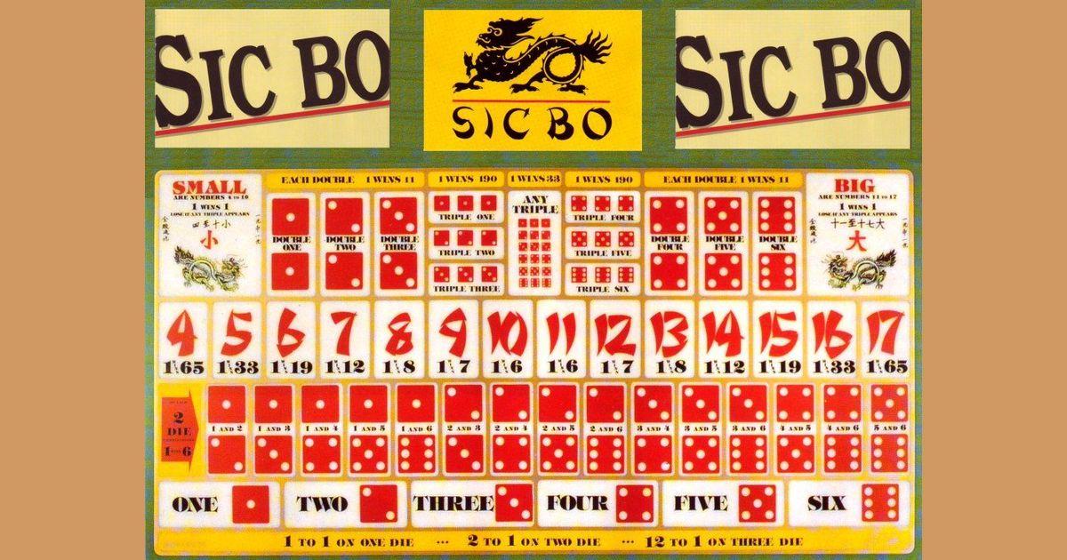 Sic Bo | Board Game | BoardGameGeek