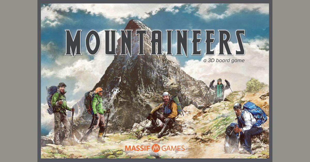 My Mountaineer Card >> Component Tray Assembly Construction Mountaineers Boardgamegeek