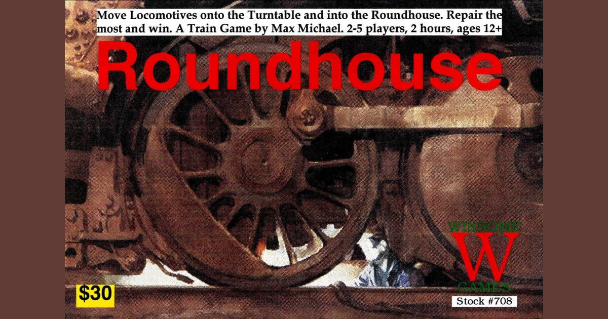 Roundhouse | Board Game | BoardGameGeek