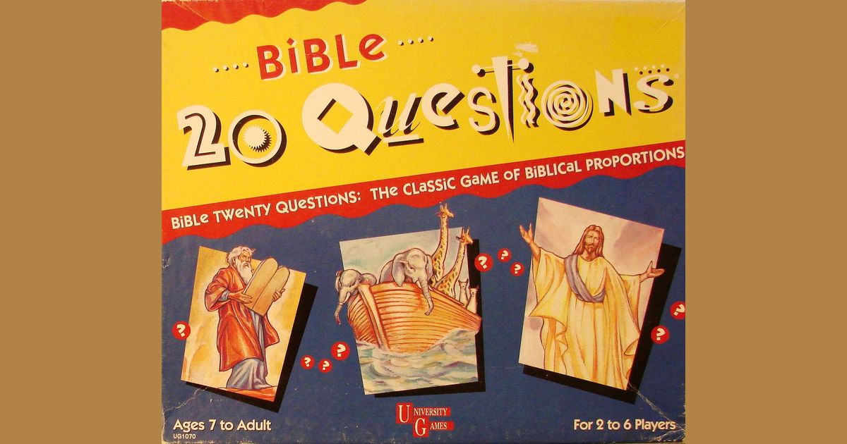 Bible 20 Questions | Board Game | BoardGameGeek