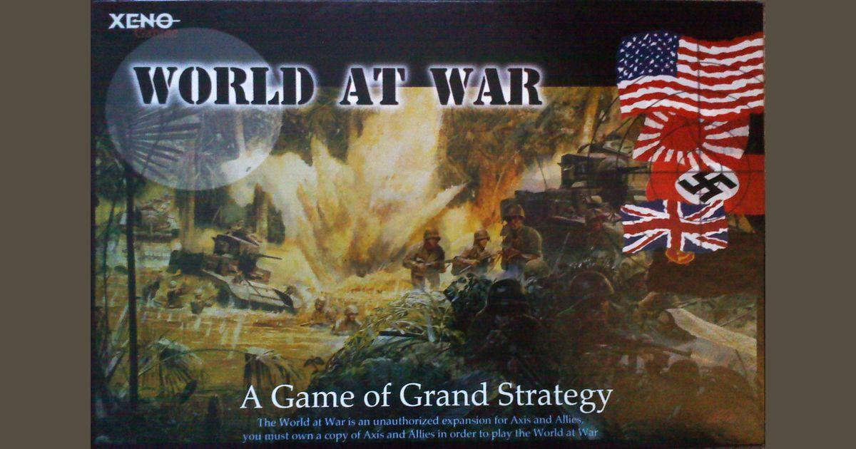 The World at War | Board Game | BoardGameGeek
