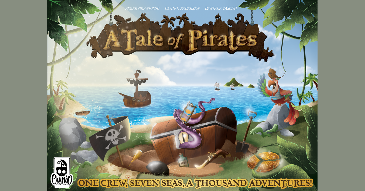 A Tale of Pirates | Board Game | BoardGameGeek