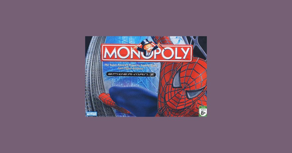 Monopoly: Spider-Man 3 | Board Game | BoardGameGeek
