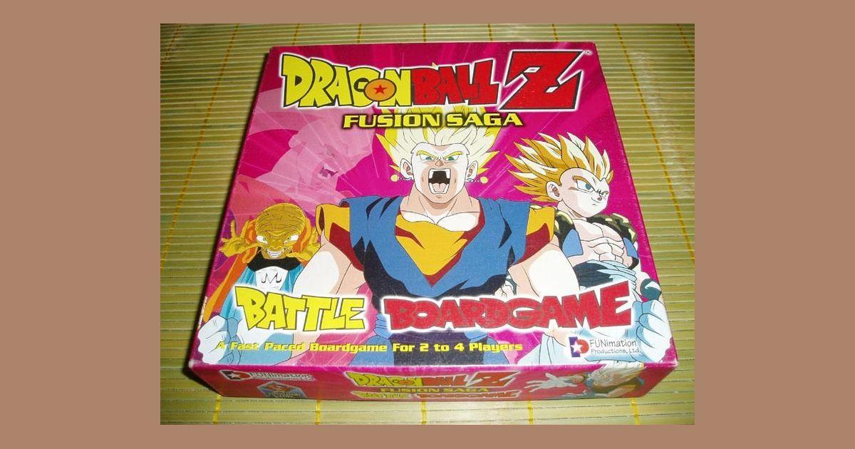 Dragon Ball Z: Fusion Saga Battle Boardgame | Board Game