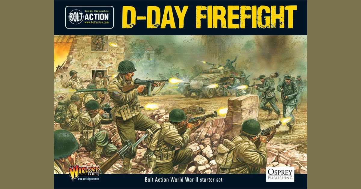 Bolt Action: D-Day Firefight | Board Game | BoardGameGeek