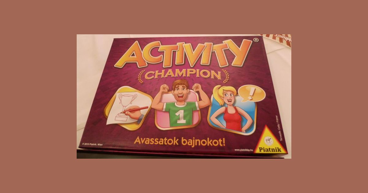 53f96ce7a Activity Champion | Board Game | BoardGameGeek