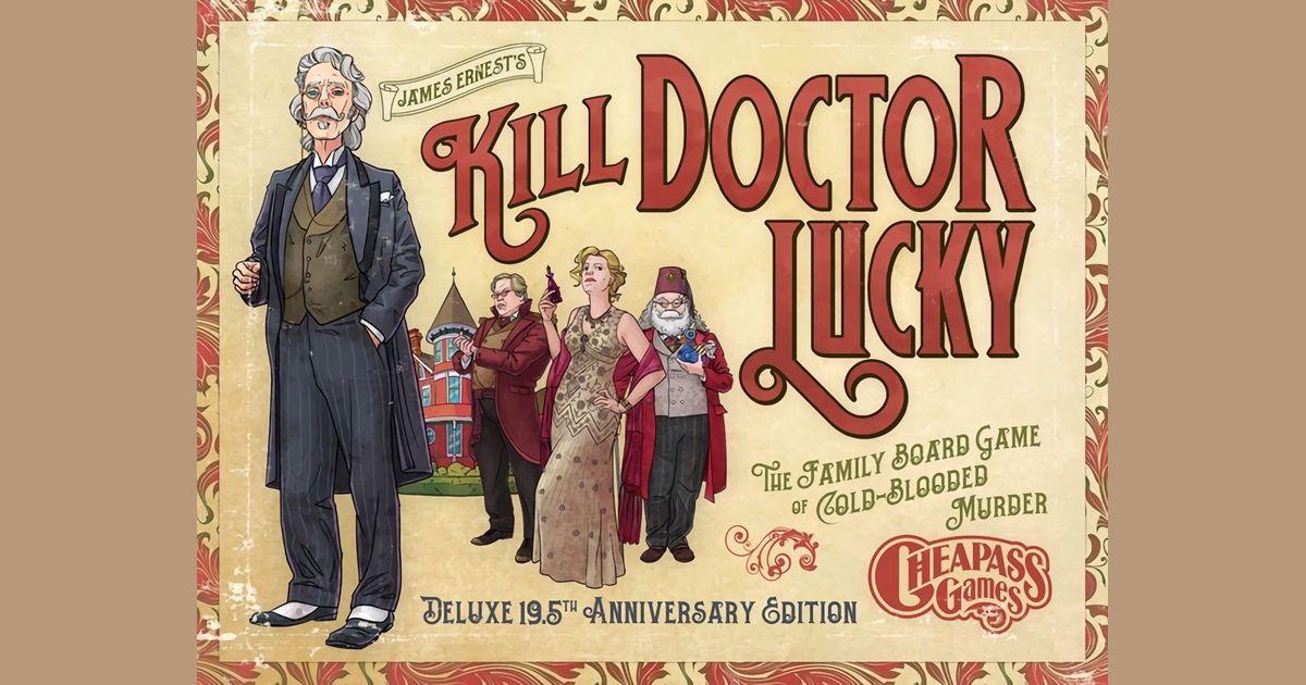 Kill Doctor Lucky | Board Game | BoardGameGeek