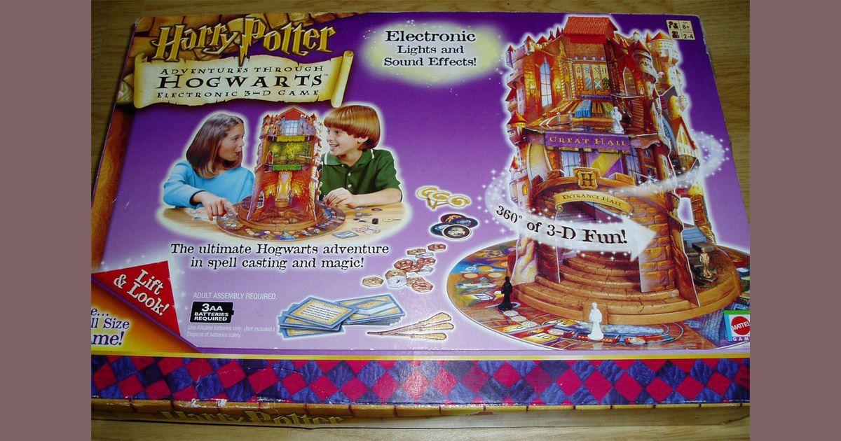 Harry Potter Adventures Through Hogwarts Electronic 3-d Game Mattel