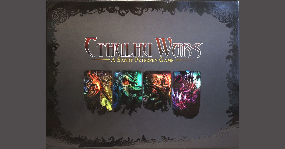 Cthulhu Wars | Board Game | BoardGameGeek