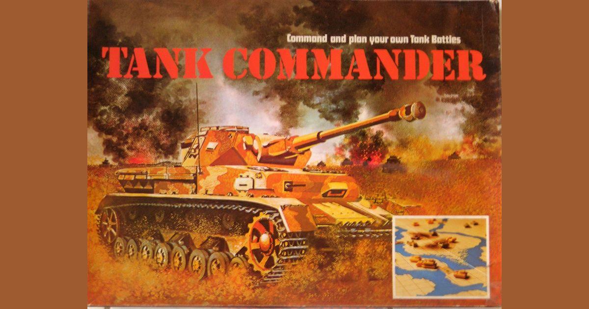 Tank Commander   Board Game   BoardGameGeek