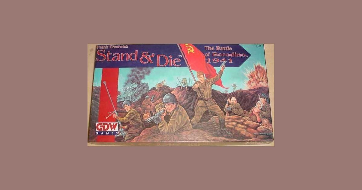 Stand & Die: The Battle of Borodino, 1941 | Board Game | BoardGameGeek