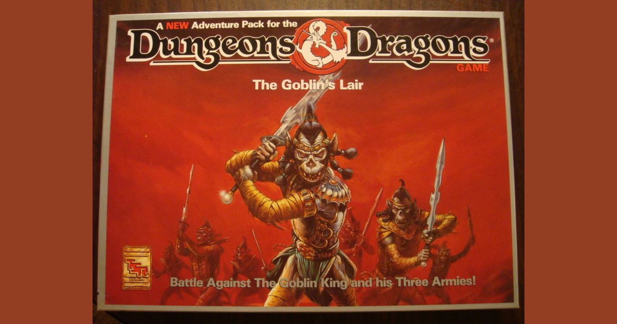 Dungeons & Dragons: The Goblin's Lair | Board Game