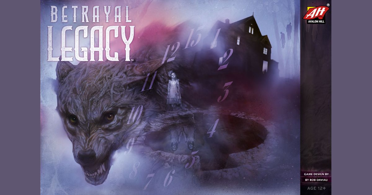 Betrayal Legacy | Board Game | BoardGameGeek