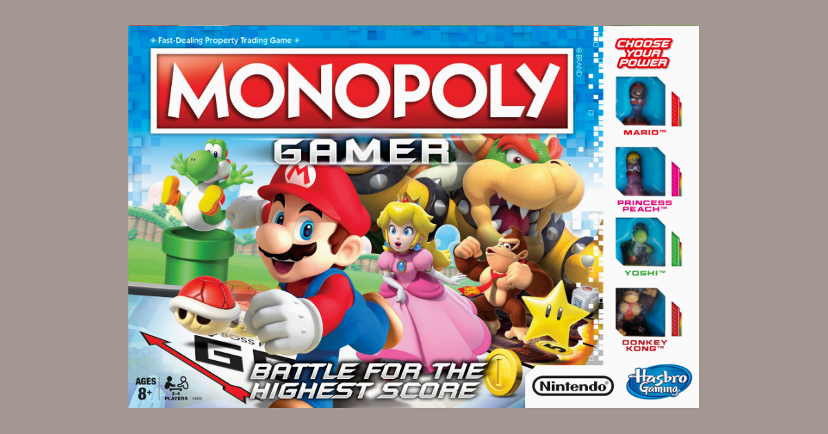 Monopoly Gamer: Mario, Shells and Coins! OH MY! | Monopoly