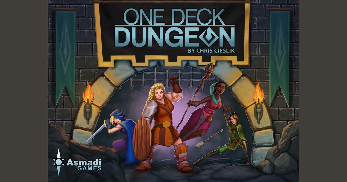 One Deck Dungeon | Board Game | BoardGameGeek