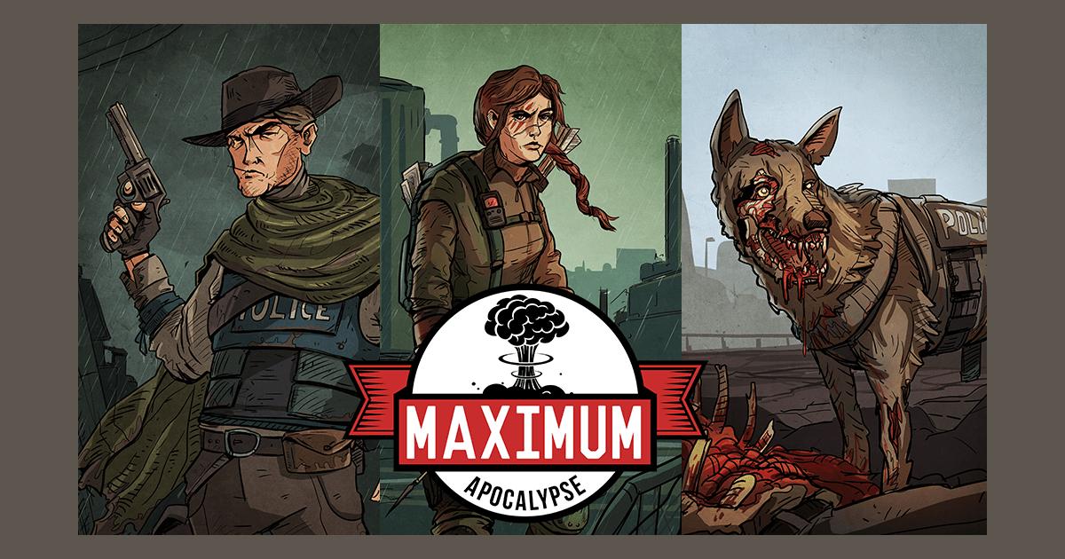 Maximum Apocalypse | Board Game | BoardGameGeek