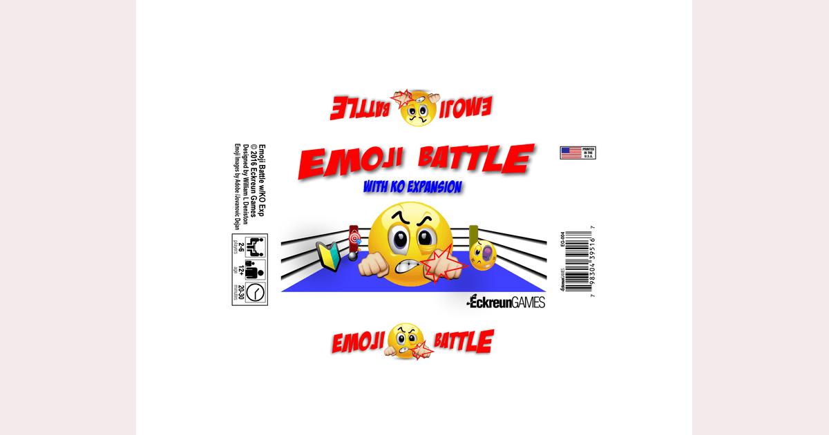 Emoji Battle with KO Expansion | Board Game | BoardGameGeek