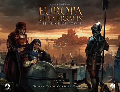Board Game: Europa Universalis: The Price of Power