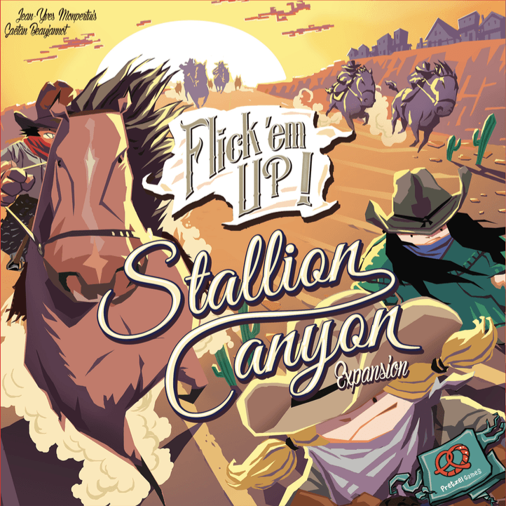 Flick 'em Up!: Stallion Canyon Cover