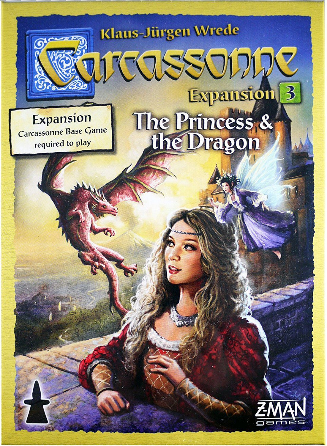 Carcassonne: Expansion 3 – The Princess & The Dragon