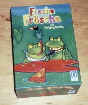 Freche Frösche