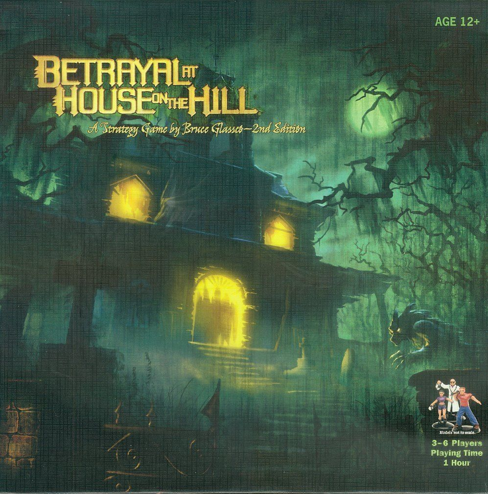 Main image for Betrayal at House on the Hill board game