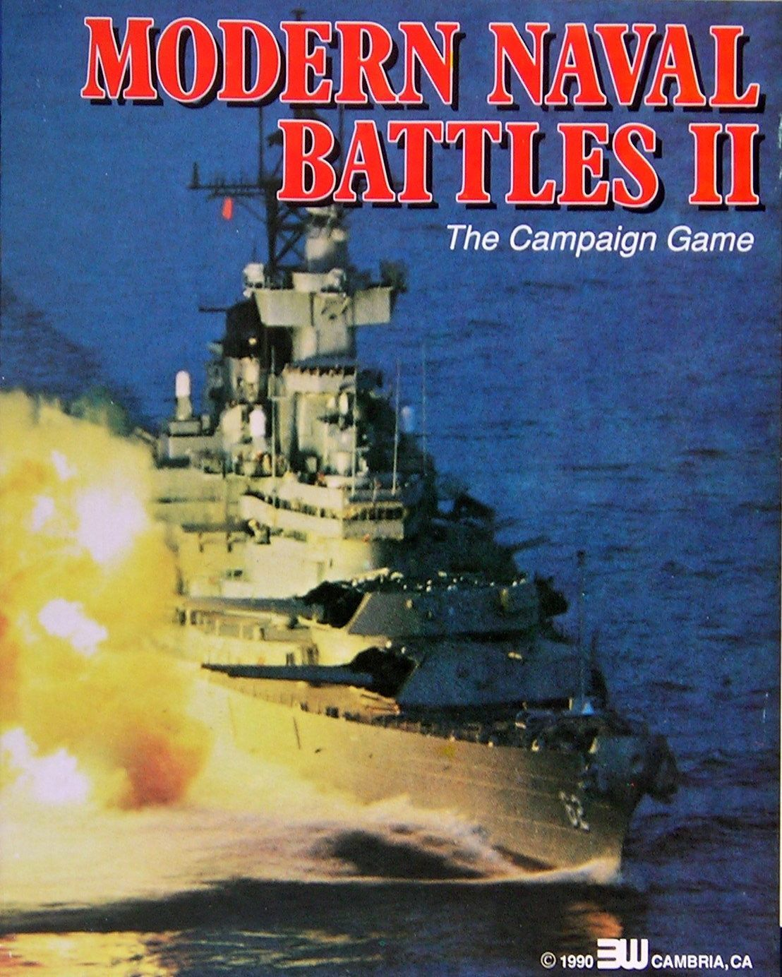 Modern Naval Battles II: The Campaign Game