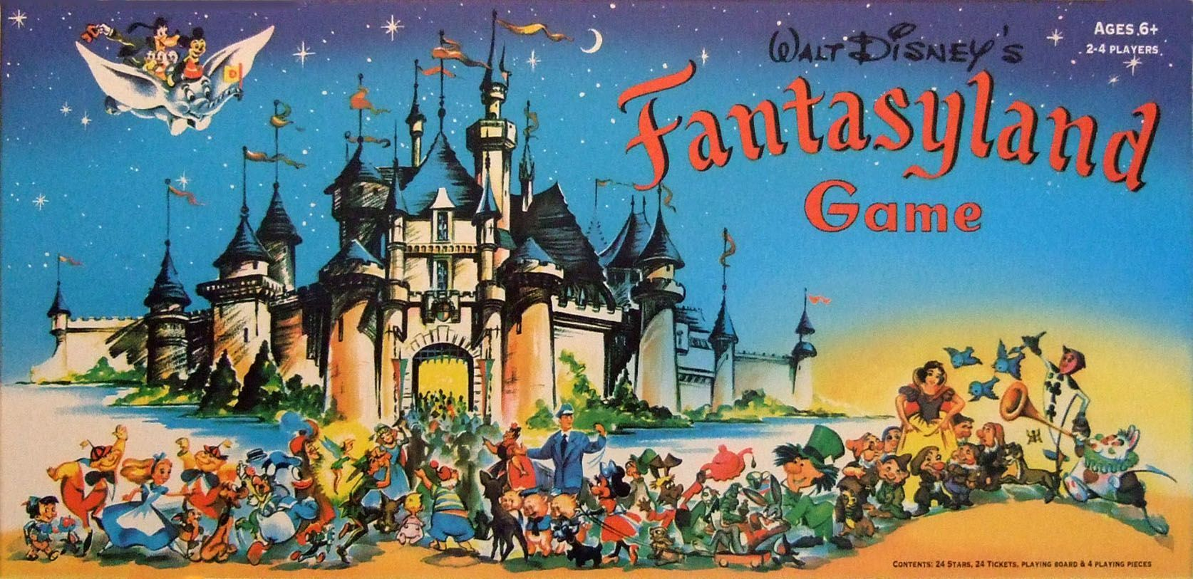 Walt Disney's Fantasyland Game