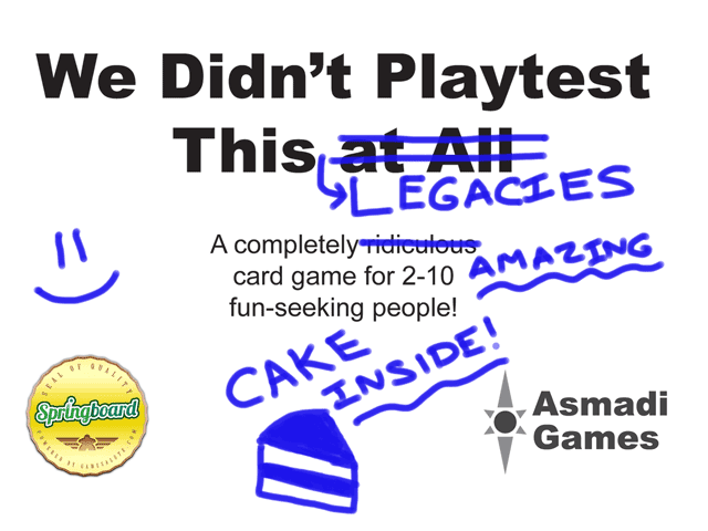 Main image for We Didn't Playtest This: Legacies