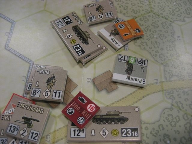 Board Game: Fighting Formations: Grossdeutschland Motorized Infantry Division