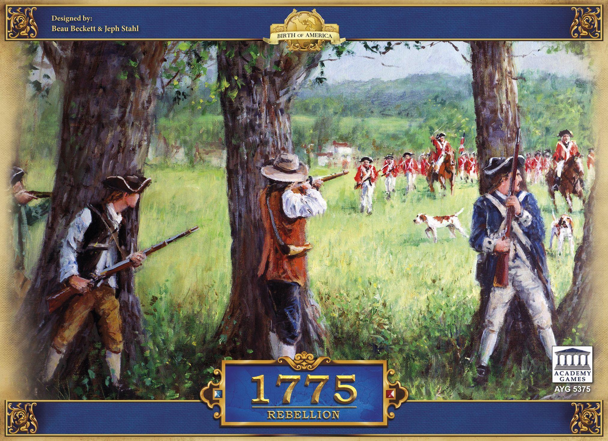 Main image for 1775: Rebellion board game