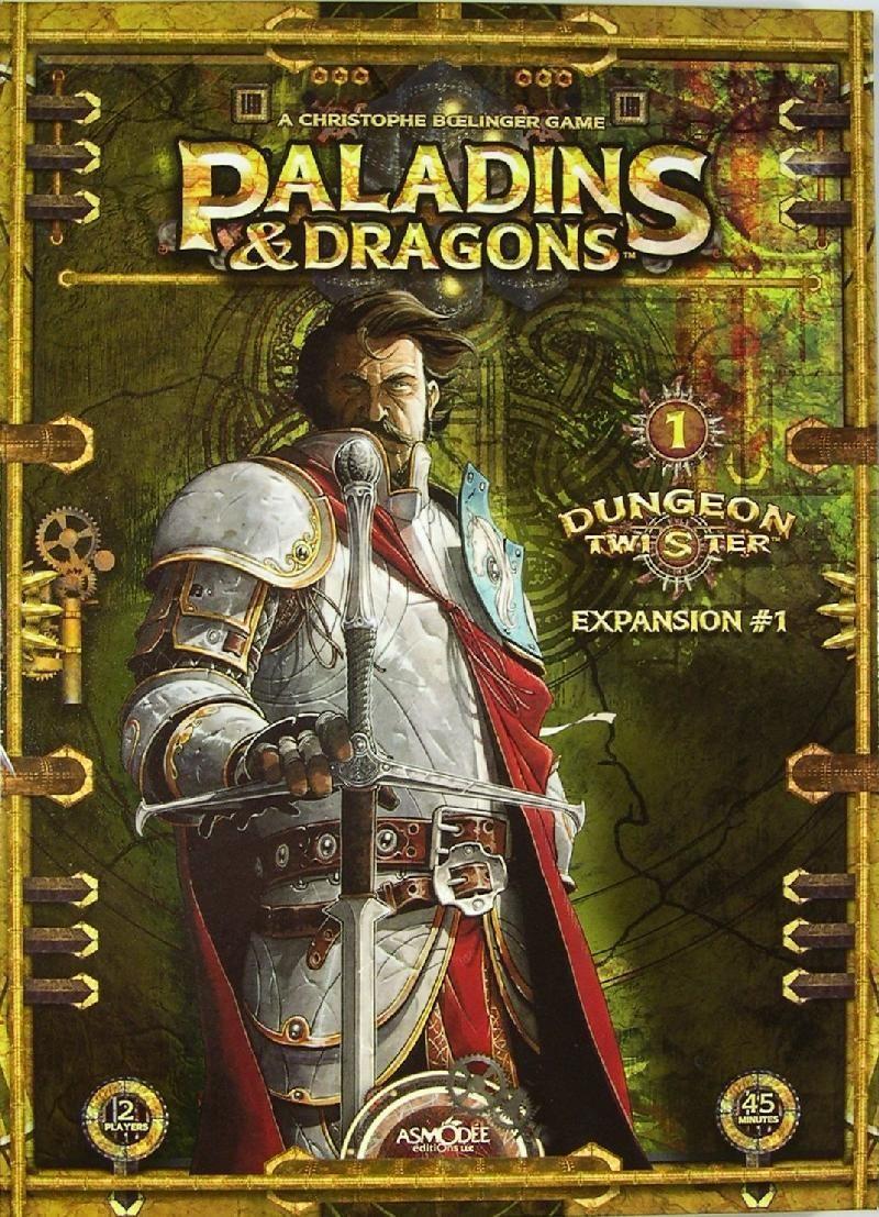 Dungeon Twister: Paladins & Dragons